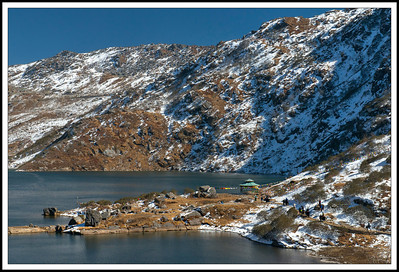 Changu (Tsomgo) Lake, Sikkim, India.