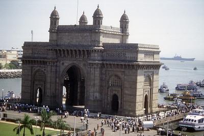 Gateway to India Arch, Mumbai, India.