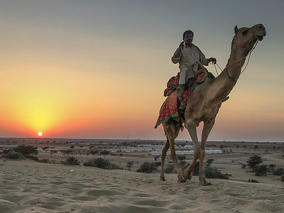 Indian Beduin....givig camel rides to Indian tourists in the desert outside Jaisalmer.
