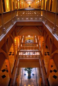 Corridor, Taj Mahal Hotel Heritage Wing, Mumbai, India.