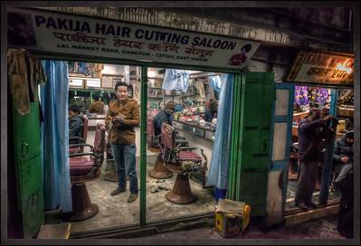Lal Market Road, Gangtok, Sikkim, India.