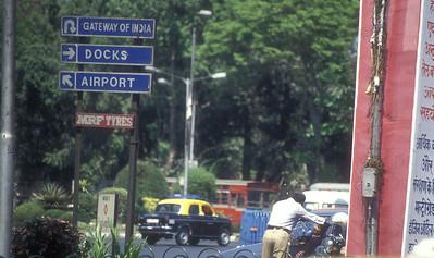 Traffic, Mumbai, India.