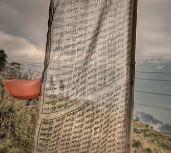 Prayer flag, Sikkim, India.