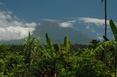 Mount Agung, northeastern Bali, Indonesia.