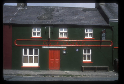 Buildings along the ring of Kerry, Ireland