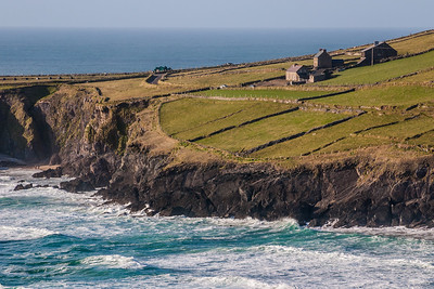 View of coastline - Ireland