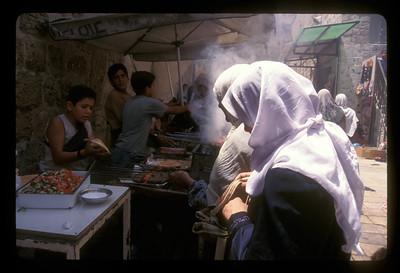 After Friday prayers, old city of Jerusalem.