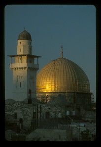 The Dome of the Rock, Jerusalem.