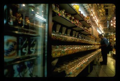 Candy shop, Ben Yehuda Mall area of Jerusalem, Israel.