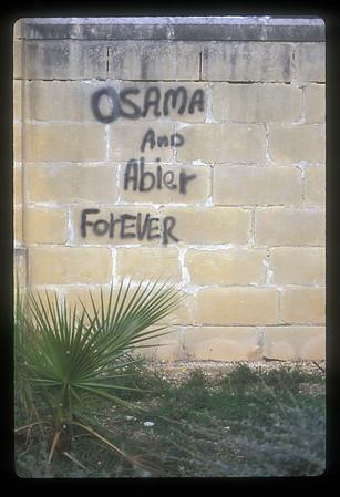 Graffiti, Sicily, Italy.