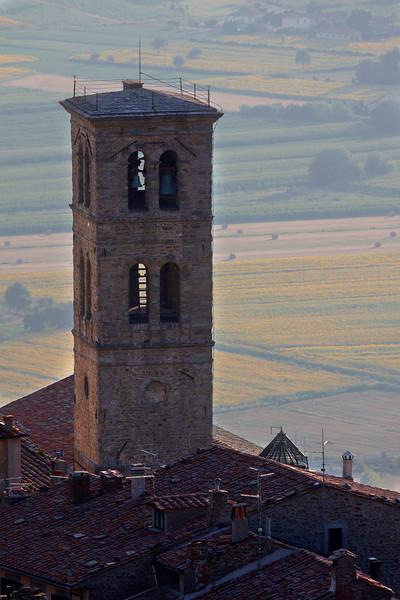 Bell tower in Cortona