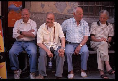 The boys, Cinque Terre region, Italy.