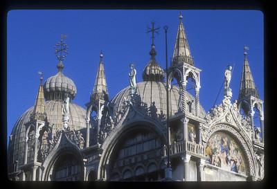The Basilica San Marco, Piazza San Marco, Venice, Italy.