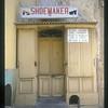 Shoe repair shop, Taormina, Italy.