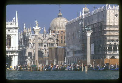 View to Piazza San Marco, Venice, Italy.