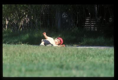 Fallen baby, Matsumoto, Japan.