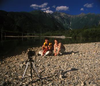 Japanese Alps, Nagano, Japan.