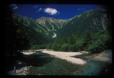 Japanese Alps, Nagano prefecture, Japan.