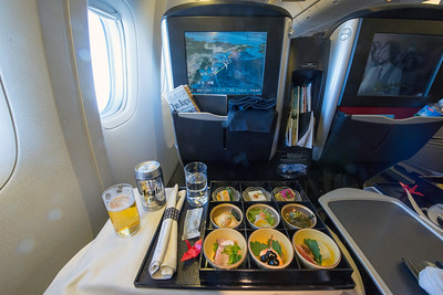 Meal, Japan Airlines.