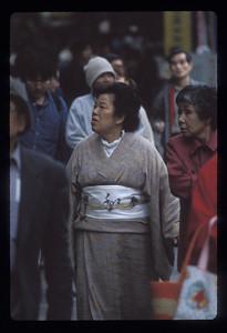 Woman, Kyoto, Japan.