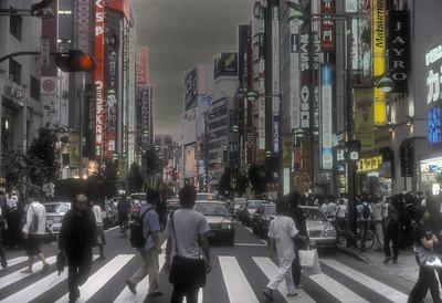 Shinjuku HDR - Tokyo, Japan.