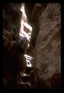 The road to the ancient ruins of Petra, Jordan.