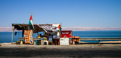 Roadside Stand Along The Dead Sea, Jordan