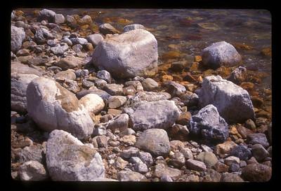 Salt, Dead Sea, Jordanian shore.