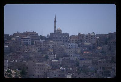 Abu Darwish mosque, Amman, Jordan.