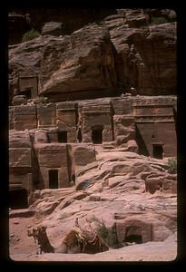 The ancient ruins of Petra, Jordan.