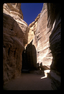 The road to the ancient ruins of Petra, Jordan.