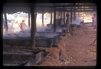Salt mine, rural Laos.