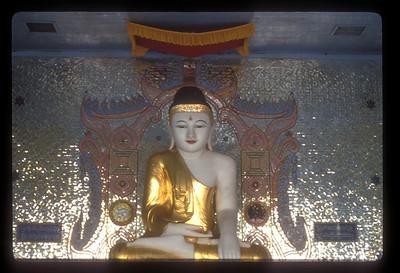 Buddha statue, Wat Sisaket near Vientiane, Laos.