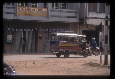 Street scene, Vientiane, Laos.