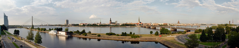 "Riga, Latvia panorama. Mouse over it, then click ""original"" to make it much bigger."