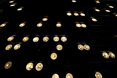 Votive Candles, Riga, Latvia Cathedral.