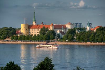 Riga Castle HDR, Riga, Latvia.