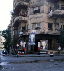 Baath party office, Beirut, Lebanon, 1999.