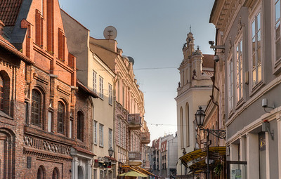 Old town Vilnius, Lithuania.