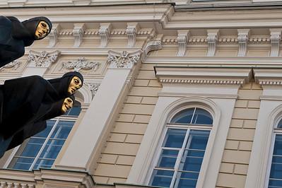 National Drama Theatre, Vilnius, Lithuania.