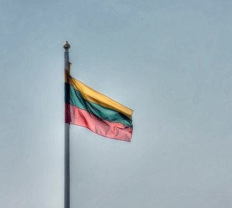 HDR: Lithuanian flag.