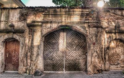 HDR: Gate, Vilnius, Lithuania.