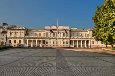 The Lithuanian Presidency Building, Vilnius.