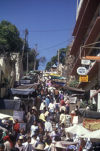 The Zoma, the Friday market in Antananarivo, capital of Madagascar.