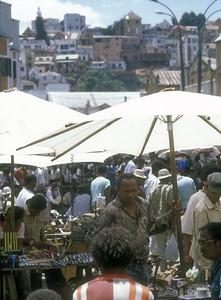 Vendors at the Zoma, the Friday market in Antananarivo, capital of Madagascar.