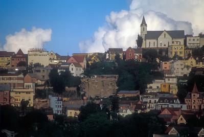 Antananarivo skyline, capital of Madagascar.
