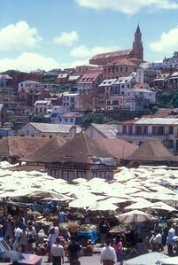 The Zoma, the Friday market in Antananarivo, capital of Madagascar.