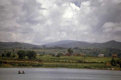 Lake outside Antsirabe, Madagascar.