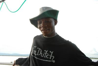 Immanuel, deck hand, MV Ilala, Lake Malawi.