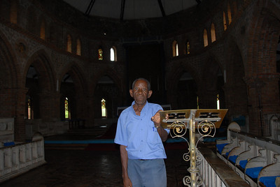 Keeper of the Anglican Cathedral, Likoma Island, Malawi.